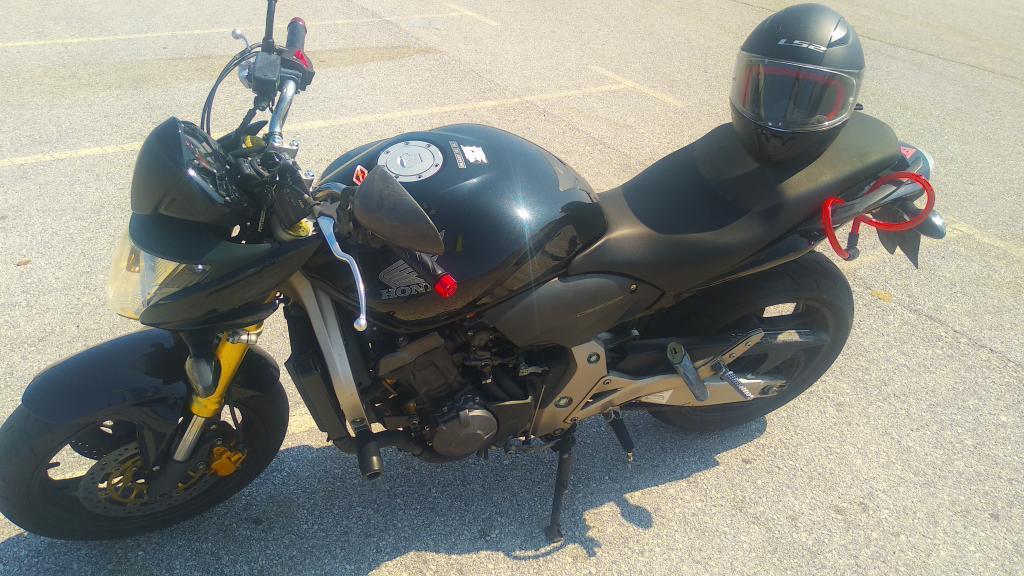 Honda CB 600 F HORNET ABS WHITE NAKED occasion Eghezee