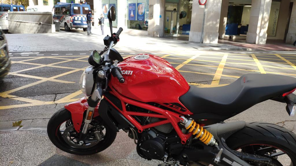 Ducati MONSTER 797 ABS RED