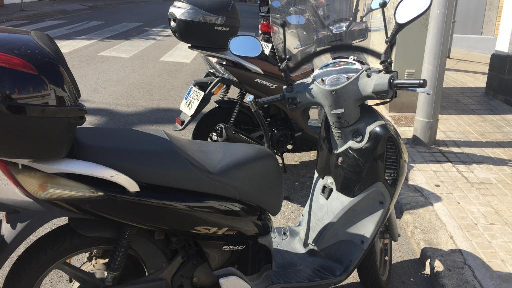 Honda SCOOPY 125 SH