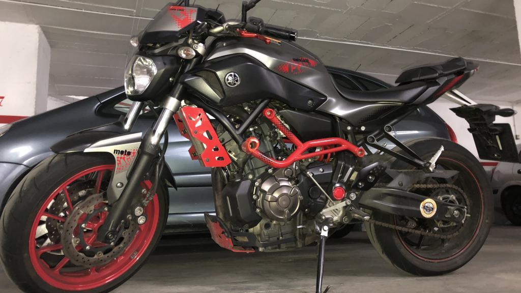 Yamaha MT 07 CAGE