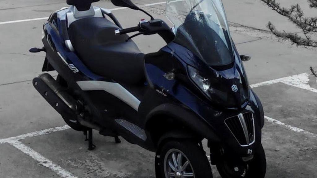 Piaggio-Vespa MP3 400 LT