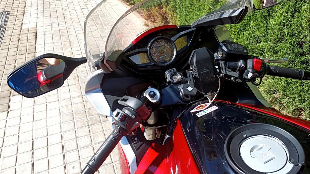 Honda VFR 1200 F DUAL CLUTCH