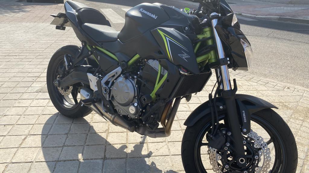 Kawasaki Z 650 A2 ABS